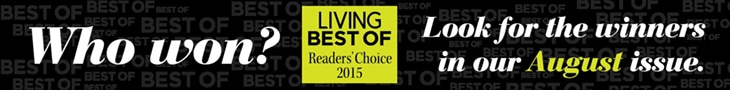 Living Magazine Best Of Readers' Choice 2015